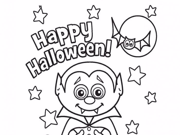 Halloween Colouring Contest 2016