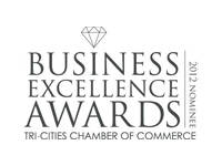 2012 Community Spirit Nominee, Tri-Cities Chamber of Commerce Business Excellence Awards