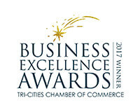 2017 Community Spirit Winner, Tri-Cities Chamber of Commerce Business Excellence Awards