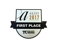 2017 A-List Favourite Accountant First Place, Tri-City News