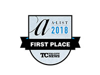 2018 A-List Favourite Accountant First Place, Tri-City News